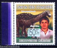Comores MNH, Alberto Cobos of Span Paleontologist, discoverers of Turiasa - In06