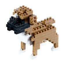 NEW BRIXIES BOXER DOG - 91 Pieces Nano / Micro-Sized Building Blocks #200.088