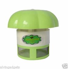 UV LED Lamp Light Catalysis Mosquito Repellent Catcher Trap Killer(Green)