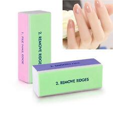Fashion 5 Piece Nail Art Manicure 4 Way Shiner Buffer Buffing Block Sanding File