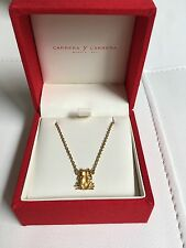 Carrera y Carrera Gold Frog Necklace 18kt Yellow Gold