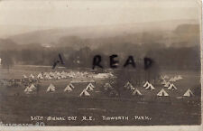 Panoramic view 30th Signal Coy RE Camp Tedworth Park near Tidworth Hampshire
