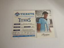 "2012 Prestige ""Draft Tickets"" KENDALL WRIGHT Titans/Baylor #7 Rookie RC"