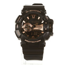 Casio G-Shock GA-400GB-1A4 BLACK /ROSE GOLD Men's Watch Fast Ship