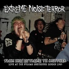 EXTREME NOISE TERROR - FROM ONE EXTREME TO ANOTHER LP (LIVE 1989) UK CRUST-PUNK