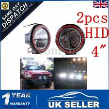 2X 55W 4''HID Xenon Driving Spot Work Light Lamp OffRoad Beam Spotlight Jeep 4X4