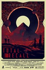 Total Recall Glow In The Dark Matt Ferguson Poster Screen Print Regular Ed #/150