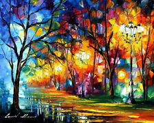 "Mystical Alley   —  Oil Painting On Canvas By Leonid Afremov. Size: 30""x24"""