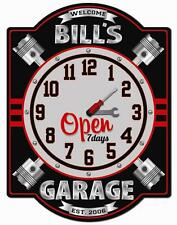 Garage  Clock Wall Sign