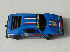 Ancienne voiture grand modèle ferrari bleue - Friction - sans marque - Elf