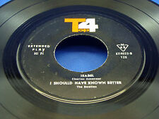 "BEATLES - I Should Have Known Better - IRAN PERSIAN 4-Song 1960's EP VG++ ""TOP4"""