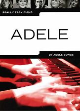 Klavier Noten : ADELE 27 Adele Songs (Really Easy Piano) leicht   (AM1011340)