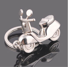 Motorcycle Scooter Keyring Keychain Classic 3D Pendant Key Chain Creative Gift