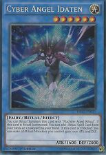 YU-GI-OH SECRET RARE CARD: CYBER ANGEL IDATEN - DRL3-EN013 - 1ST EDITION