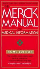 The Merck Manual Of Medical Information (Merck Manual of Medical Information, H