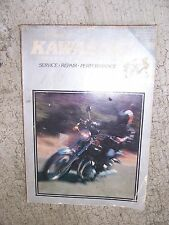 1973 - 1977 Kawasaki 900cc 1000cc  Motorcycle Service Manual Clymer Repair  R