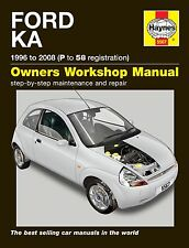 HAYNES WORKSHOP REPAIR OWNERS MANUAL Ford Ka (96 - 08) P to 58