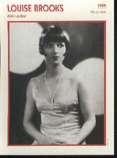 Louise BROOKS sexy Loulou French Photo Card