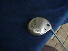 "Callaway Big Bertha Warbird #7 Heaven Wood Light Senior ""VGC"""