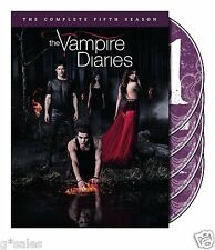Vampire Diaries ~ Complete 5th Fifth Season 5 Five ~ BRAND NEW 5-DISC DVD SET