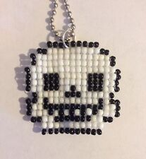 Undertale Sans Game Handmade SEED BEADS Fashion Necklace Pendant Jewelry Art
