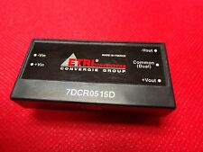 7DCR0515D Converter ISOLATED DC/DC CONVERTERS Industrial P.W.M (1 PER)