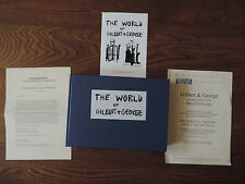 The World of Gilbert & George The StoryBoard by Gilbert & George SIGNED FIRST ED