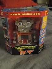 Ir-Vonline Irv Vintage 2001 1st Wireless Internet Computer Robot Toy NEW w/ Box