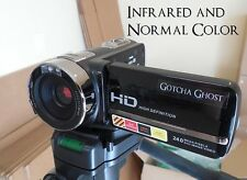 HD Camcorder w/ NIGHT VISION Ghost Hunting Equipment Touch Screen IR Infrared