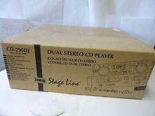 Img Stage Line cd-290dj pro dual CD mp3 reproductor CD 290 DJ 21.2100