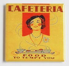 Cafeteria Food FRIDGE MAGNET sign