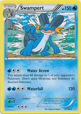 2x Pokemon Primal Clash Swampert - 35/160 - Rare Card