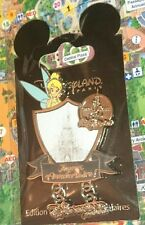 Disney Pin Disneyland Paris 12 Avril Anniversary Fée Clochette Tinkerbell Castle