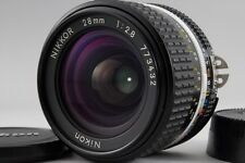 =NEAR MINT= Nikon Nikkor Ai-S AIS 28mm f/2.8 Wide Angle MF Lens from Japan #o20