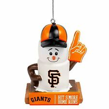 San Francisco Giants Smores Christmas Tree Holiday Ornament Hit Smore Home Runs