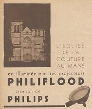 Z9278 Projecteurs Philiflood PHILIPS -  Pubblicità d'epoca - 1932 Old advert