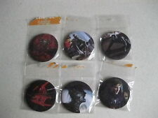 SPIDERMAN PIN BADGES X6 BRAND NEW UNOPENED FREE UK POSTAGE BARAGAIN