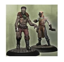 Carnevale miniature game Morgue Doctor and Monster metal new