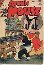1957 Atomic Mouse #24 (Grade 4.0) (WH)