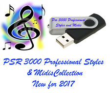 Yamaha PSR 3000 Pro Styles and midis new for 2017