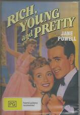 RICH YOUNG AND PRETTY STARS JANE POWELL CLASSIC NEW ALL REGION DVD