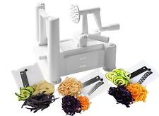 Kitchen Food Vegetable Fruit Spiralizer Spiraliser Spiral Slicer Cutter Chopper