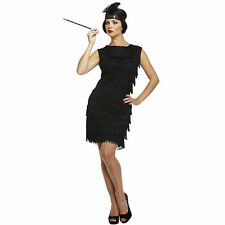 Flapper Ladies 20s 30s Fancy Dress Womens 1920s Great Gatsby Adults Lady Costume