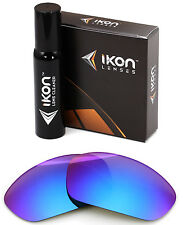 Polarized IKON Replacement Lenses For Oakley Straight Jacket 2007 Purple Mirror