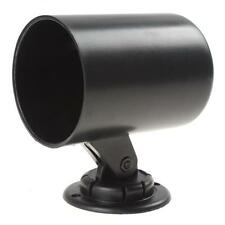 "52mm 2"" Inch Car Gauge Cup Holder Pod Black Universal Plastic Car Mount Adapter"
