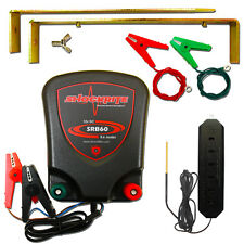 ELECTRIC FENCE BATTERY ENERGISER 12V SRB60 0.6 joule  + Fencer Tester