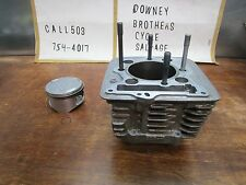 XR 400 HONDA 2001 XR 400R 2001 CYLINDER AND PISTON
