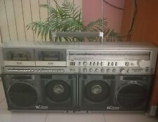SHARP GF 777H - BOOMBOX GHETTOBLASTER 80's (full working)