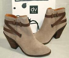 DV by DOLCE VITA Womens PRYNCE Taupe Suede Ankle Bootie Boot 9.5 M NEW