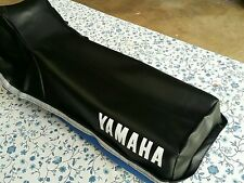 Yamaha XT 350 1984-2000 Seat Cover Black (Y2)
